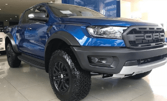 Ford Ranger Raptor 2.0L 4x4 AT (Bi-Turbo) Màu Xanh